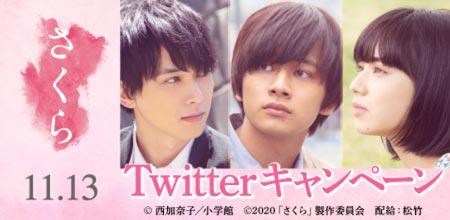 映画「さくら」 Twitterキャンペーン