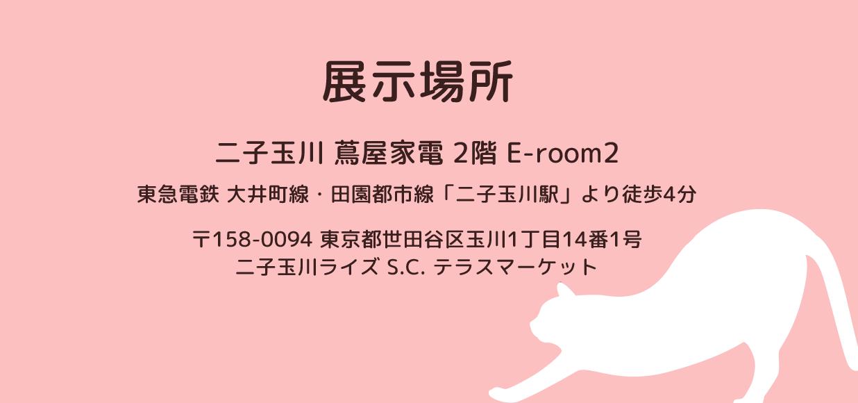 展示場所 二子玉川 蔦屋家電 2階 E-room2