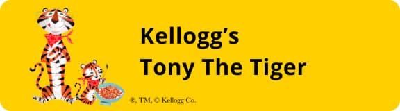 Kellogg's Tony The Tiger コラボ年賀状
