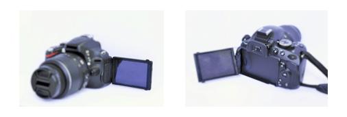 バリアアングル液晶搭載カメラ