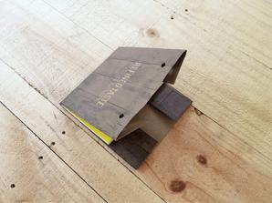 オリジナルブックカバーの作り方4