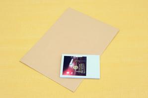 基本のフォトブックの包み方1