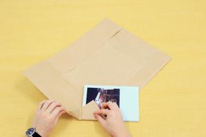 基本のフォトブックの包み方2